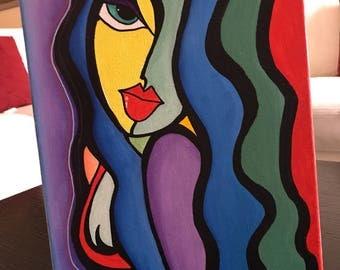 DECORATIVE ART, The Flirty Girl