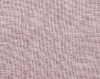 Pink coated linen sold was cut from 25 cm