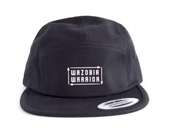 THE CROWN Original black 5-panel hat
