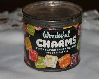 RARE Vintage Charms Candy Tin
