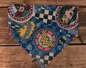 Female superhero bandana