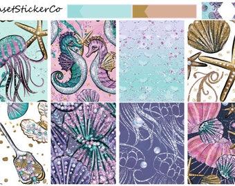 Ocean Kisses | Erin Condren Weekly Kit (K03)