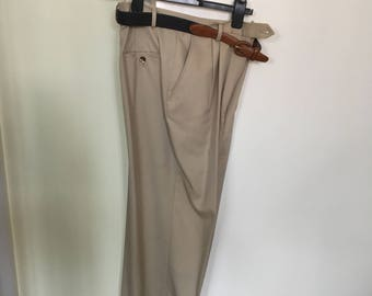 Beige Daks trousers