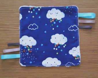 "Blanket pattern ""Clouds"""