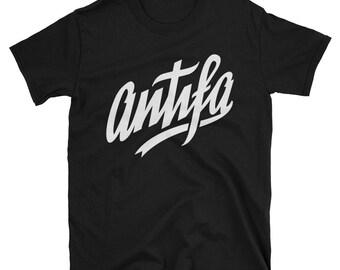 Antifa T-Shirt Anti-Fascist No Nazis No Sexism Gift Unisex Tee