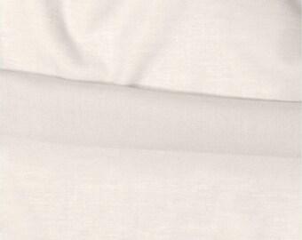 Off-white cotton Voile