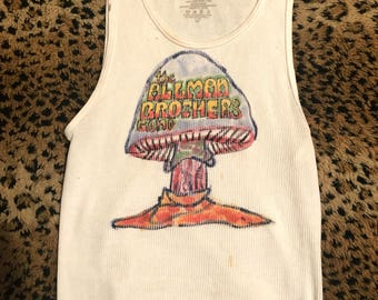 Vintage 1970 S Allman Brothers Band Iron On Transfer