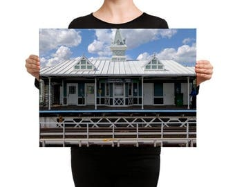 Conservatory Station, Chicago IL Canvas Print