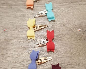 Bow snap clips