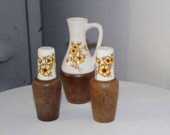 Vintage Set of Salt and pepper shaker
