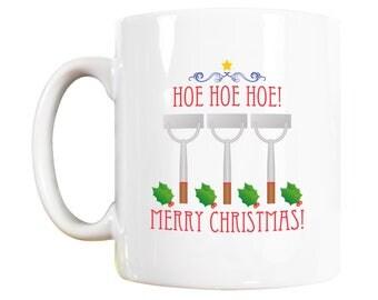 Christmas mug, personalised christmas mug, stocking fillers, gardening gift,  gardeners christmas gift, gardening mug, funny gardeners mug