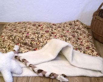 Snuggle bed, Cave Bed, Burrow  bed, sleeping sack, Pet bed