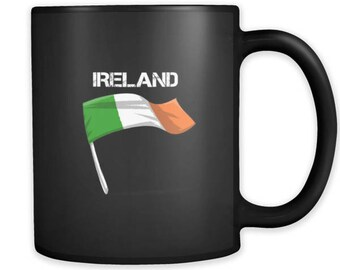 Ireland Graphic Irish Pride Flag Mug