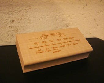 Stamp TSM002 10 x 5 cm customized on request