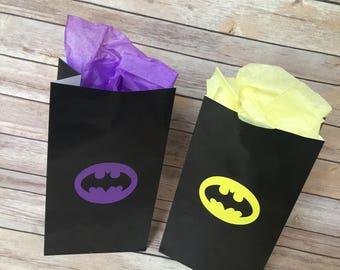 Batman gift bags   Etsy