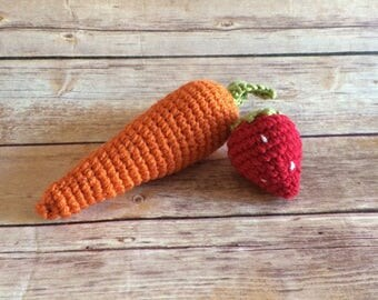 plush vegetables