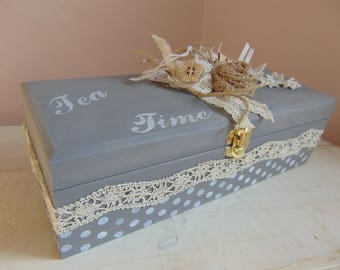 Tea, shabby spirit box