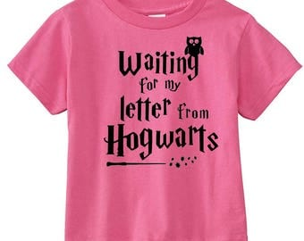 "Harry Potter Toddler ""Waiting for Hogwarts"" Shirt"