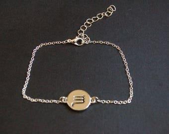 Scorpio zodiac symbol bracelet