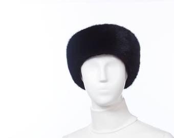 NATURAL Ranch Mink Fur Headband
