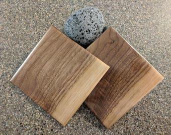 Hardwood Coasters