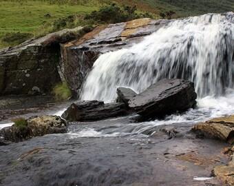 Waterfall print photograph