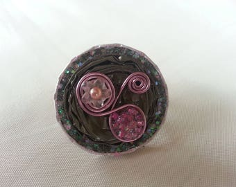 Ring beads and nespresso capsules
