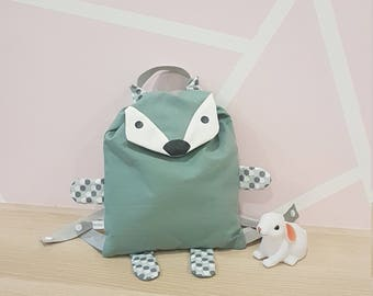 Backpack child gaspard Fox