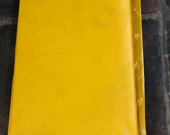 Vintage Yellow AA Service Folder Cover
