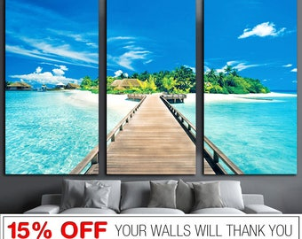 Tropical Wall Art Tropical State of Mind Printable Wall Art