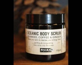 Oceanic Body Scrub: Exfoliate-Detox-Cleanse-Invigorate