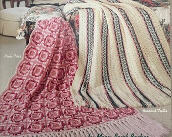 PDF 6 Crochet Pastel Afghans
