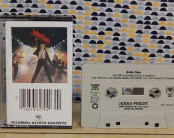 Judas Priest - Unleashed in the Far East - Live in Japan - Cassette tape