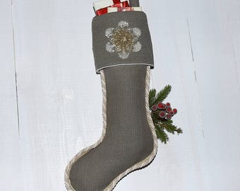 Oversize Christmas stocking