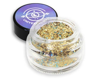 Cleopatra - Biodegradable Glitter - Eco Glitter - Gold Glitter - Eco Friendly - Non Toxic Glitter - Eye Glitter - Face Glitter - Gifts