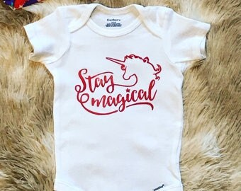 Stay Magical Baby Onesie