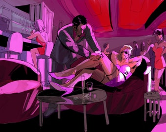 goromi majima everywhere print