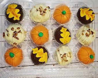Fall Cake Ball Box