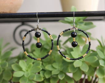 St. John's wort earrings