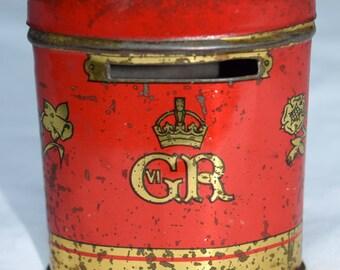 Coronation Souvenir oxo tin