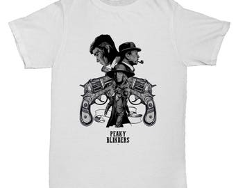 Peaky Blinders Crime Drama Movie Film Horror Comedy Cartoon Classic Mens Retro Inspired T Shirt