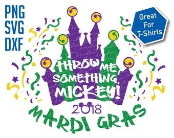 Disney Mardi Gras SVG PNG DXF