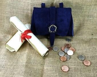 Bag Elven Suede Blue