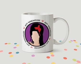 Amy Winehouse Ceramic Mug