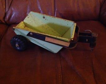 Vintage Marx Toy . Lumar toys , dump truck trailer . Retro