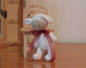 Amigurumi baby Bunny,Crochet doll,handmade amigurumi doll,rag doll/ nursery decor/ baby toys