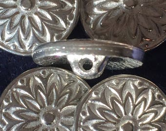 Pewter Button