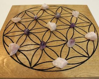 Flower of Life Crystal Grid