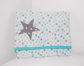 Changing pad Nomad Blue Lagoon/White - Star.