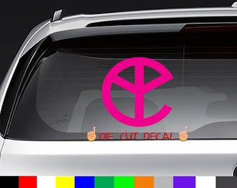 Yellow Claw EDM Decal Sticker